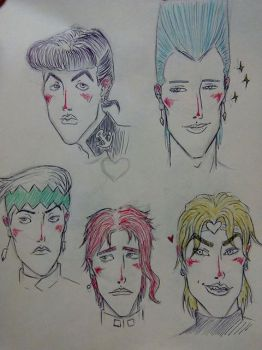 Some jojo's guys by RiridadaLolli