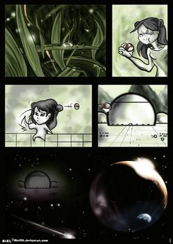Aeon Wake Up fanfiction page 1 by AleL98