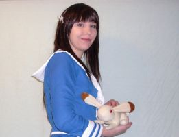 The Rabbit and The Rice Ball by MishaCosplay