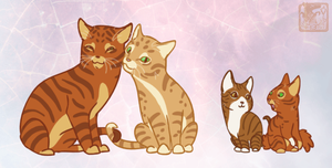 Firestar's Family by ashkey