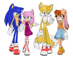 Same Old Sonic Amy Tails Cream by GodsSonicGirl
