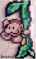 Swinging Ukiki by PerlerPixie