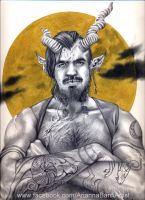 Havock the faun detail by aryundomiel