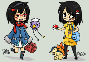 chibi trainers by konsensya