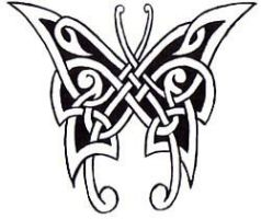 Celtic Butterfly by 23armand