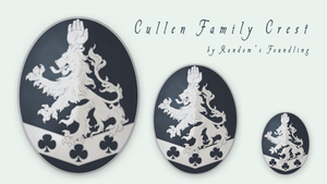 Cullen Family Crest by Randoms-Foundling