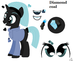 Diamond coal (ref sheet) by thorad11