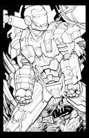 War Machine Inked by hanzozuken