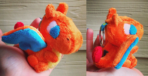 Charizard keychain by GlacideaDay
