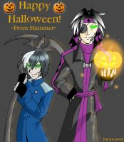 Happy Halloween from Shimmer by Aywren