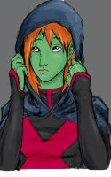 Miss Martian by DemonPea