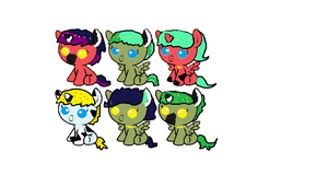foals for MephilesfanforSRB2! by star4567980