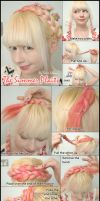 Hair Style Tutorial - Summer Overhead Plait by VioletLeBeaux