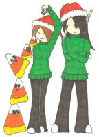 Candy Corn Christmas by Vampenxwitch