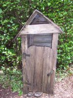 Outdoor toilet by slayer20