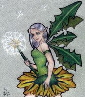 Dandelion Fairy by meisarn