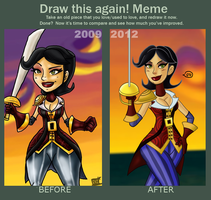 meme__before_and_after Morgan 2009-2012 by theEyZmaster