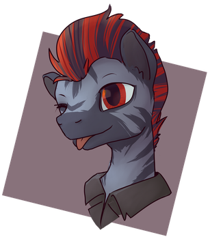 COMMISSION: Trotsky by InLucidReverie