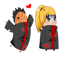 team deidara by ChibiWonders