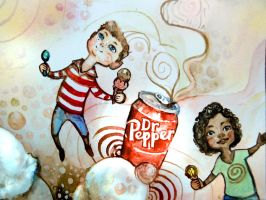 Dr Pepper and Ice Cream by YLimes