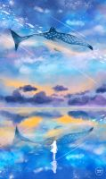 the ocean sky. by sugarmints
