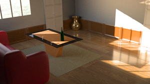 A Living Room by lucasa7x