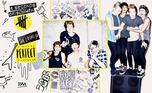 5SOS Wallpaper by jaymcgill