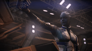 Mass Effect 3: Liara Vent Escape by TheWonderingSword