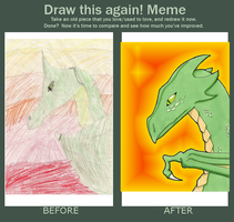 Before and after meme by Mononok