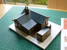 NER Crossing keepers cottage by Cavyman