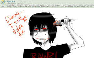 Ask Jeff The Killer 7-Question 22. by MikaelBratLoni