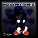 Dark Super Sonic Chao by CCmoonstar23
