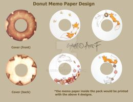 The Donut Memo Paper by Avez-F