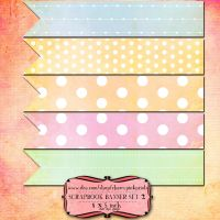 10 Scrapbook Banners SET 2 by miabumbag