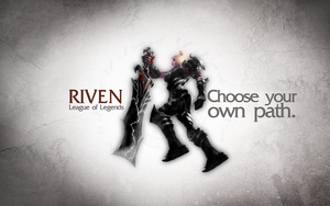 League of Legends Wallpaper - Riven by deSess