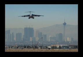 C-17 Nellis Arrival by jdmimages