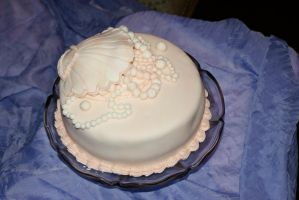 pearl anniversary cake view 2 by mannafig