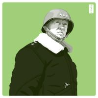 George S. Patton by monsteroftheid