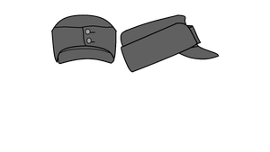 WW2  Axis hats (Write an comment, I dare you) by COLT731