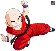 Kuririn .:Lineart52:. Color by PrinzVegeta