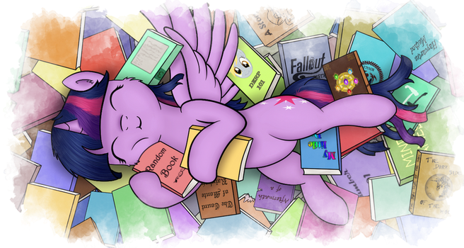 Book Horse by FluffleLord