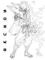 Sasuke: Return to the Leaf by CdubbArt