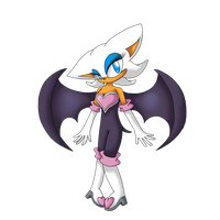 Rouge The Bat by ShadowGothicGirl