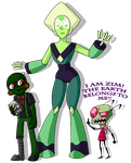 Green Jerks from Outer Space by AccursedAsche