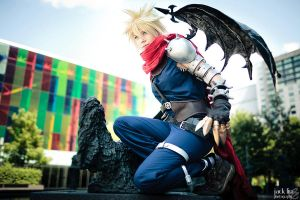 Cloud - Kingdom Hearts - 5 by alucardleashed
