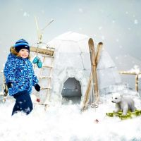 North Pole Trip - Ice Land by SussieM Designs by Altia13
