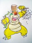 Bowser wants out!!! Full Pic by AZURA-FANG