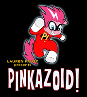 Pinkazoid logo screencap by Shishioh