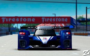 Peugeot 908 at Sebring by ZowLe