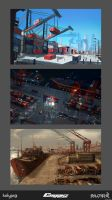 Container Harbor Thumbnails by eloel